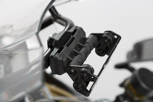 Support GPS pour barre Ø 13/16 mm Noir.