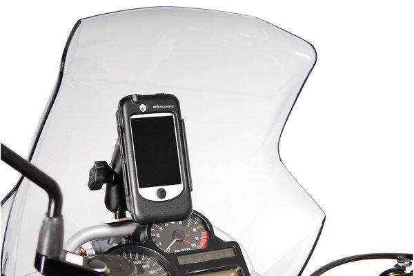Hardcase für iPhone 3/4/4s Für Navi-Halter. Spritzwassergeschützt. Schwarz.
