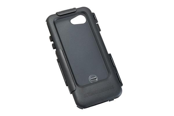 Hardcase für iPhone 7/8 Für Navi-Halter. Spritzwassergeschützt. Schwarz.
