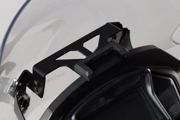 Navi-Halter im Cockpit Schwarz. Honda VFR800X Crossrunner (15-16).