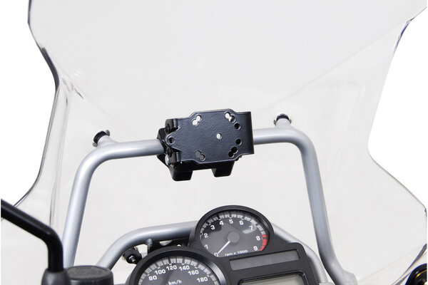 GPS mount for crossbar Ø 17 mm Shock absorbent. BMW R 1200 GS Adventure (08-).