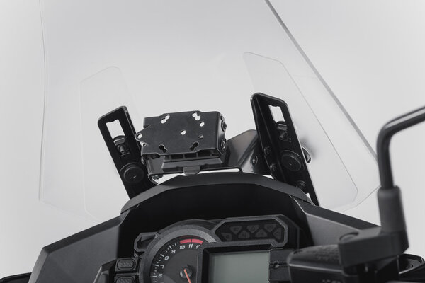 Soporte de GPS cockpit Negro. Kawasaki Versys 1000 (15-17).