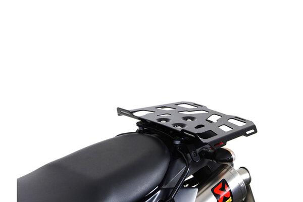 Erweiterung für ALU-RACK Gepäckträger 43x27 cm. QUICK-LOCK. Aluminium. Schwarz.