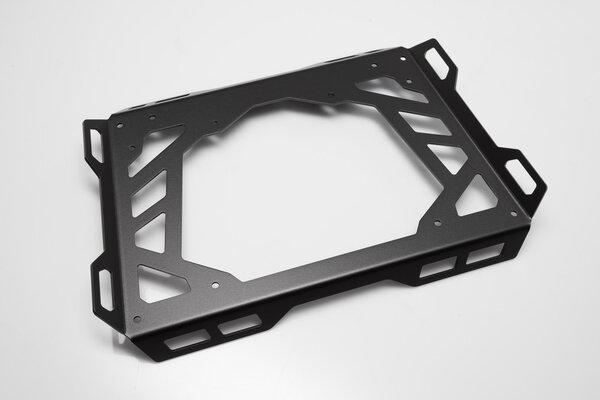 Plateau dextension pour ADVENTURE-RACK 45x30 cm. Aluminium. Noir.