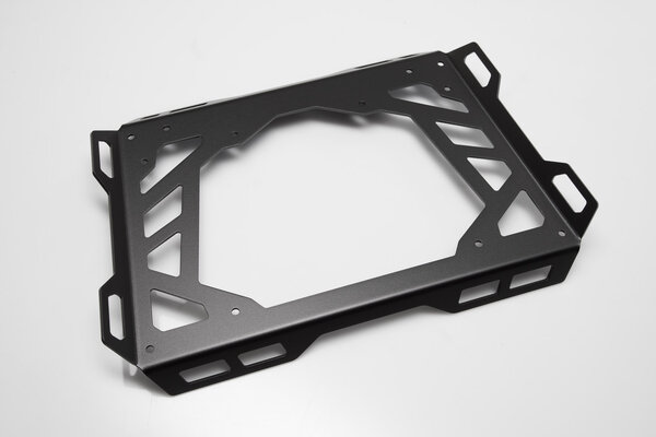 Plateau dextension pour ADVENTURE-RACK 45x30 cm. Aluminium. Noir.