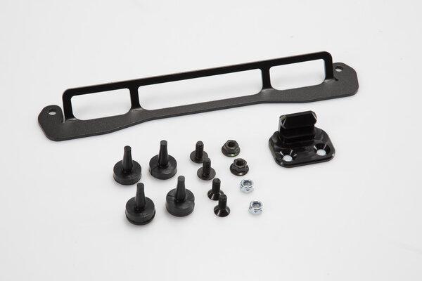 Kit d'adaptation pour porte-bagages ADVENTURE-RACK Noir. Pour Shad.