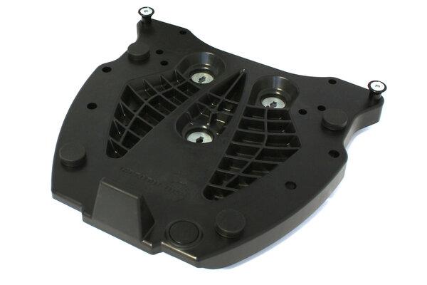 Adapterplatte für ALU-RACK Gepäckträger Für Givi/Kappa Monokey. Schwarz.