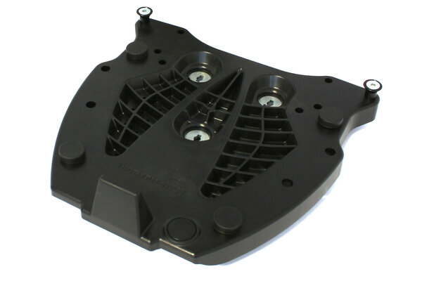 Adapter plate for ALU-RACK For Givi/Kappa Monokey. Black.