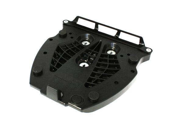 Adapterplatte für ALU-RACK Gepäckträger Für Givi/Kappa Monolock. Schwarz.