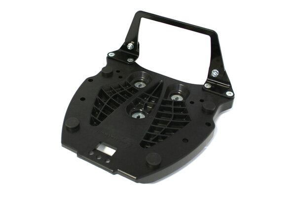 Adapter plate for ALU-RACK For Hepco & Becker. Black.