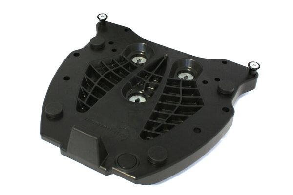 Adapterplatte für ALU-RACK Gepäckträger Für Krauser. Schwarz.