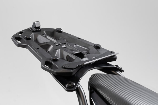 Adapter plate for STREET-RACK For Givi/Kappa with Monolock. Black.