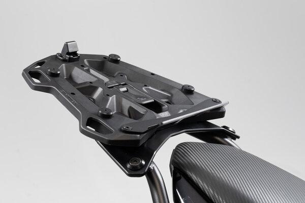 Placa adaptadora para portaequipaje STREET-RACK Para Givi/Kappa con Monolock. Negro.