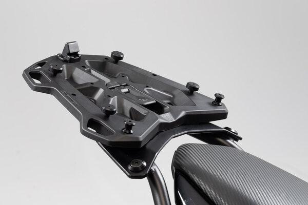 Adapter plate for STREET-RACK For Givi/Kappa with Monokey. Black.