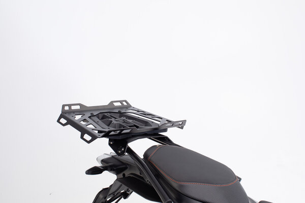 Luggage rack extension for STREET-RACK 45x30 cm. Aluminum. Black.