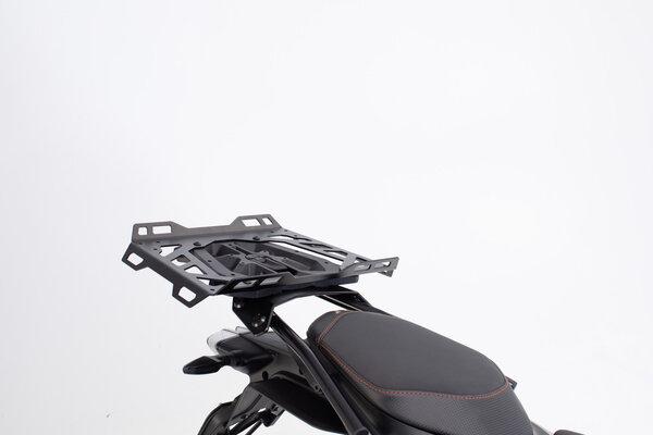 Plateau d\'extension pour STREET-RACK 45x30 cm. Aluminium. Noir.