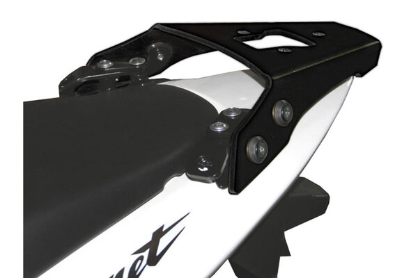 Portapacchi ALU-RACK Nero. Honda CB 600 F (98-06) / CB 600 S (99-06).