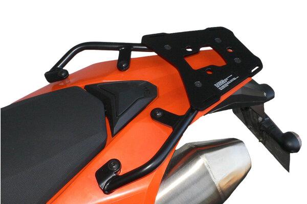 ALU-RACK Black. KTM LC4 690 Enduro (07-18).