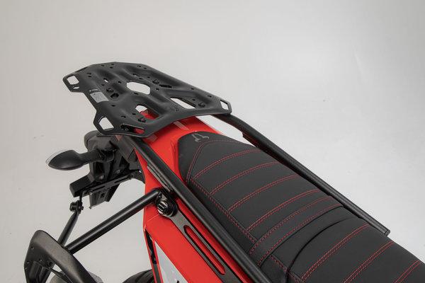 Porte-bagages ADVENTURE-RACK Noir. Yamaha Ténéré 700 (19-).