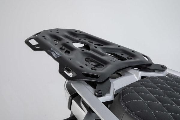 Porte-bagages ADVENTURE-RACK Noir. BMW R1200GS (12-), R1250GS (18-).