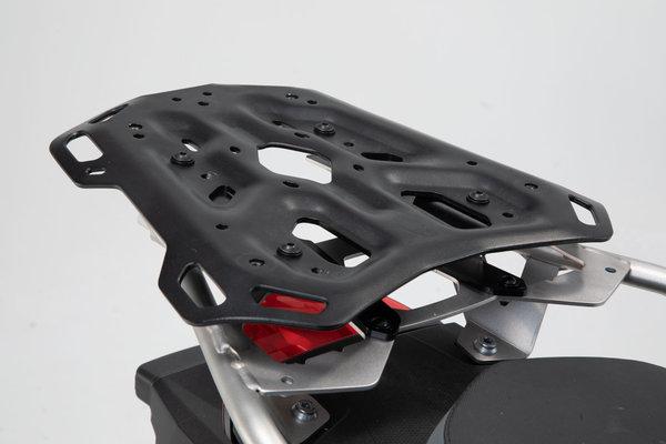 Porte-bagages ADVENTURE-RACK Noir. F 750/850 GS (18-). Pour rack acier inoxyda.