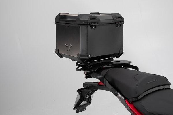 Sistema bauletto TRAX ADV Nero. Ducati Multistrada 1200 Enduro/950/1260.