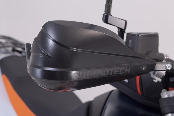 BBSTORM Handprotektoren-Kit Schwarz. KTM-/BMW-Modelle, Yamaha WR.