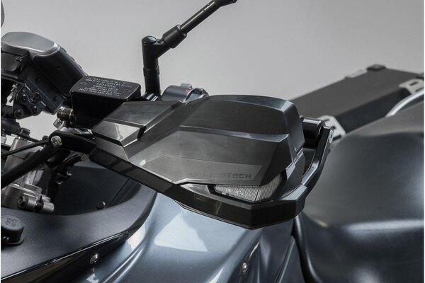 Kit Protège-mains KOBRA Noir. Spécifique à chaque moto