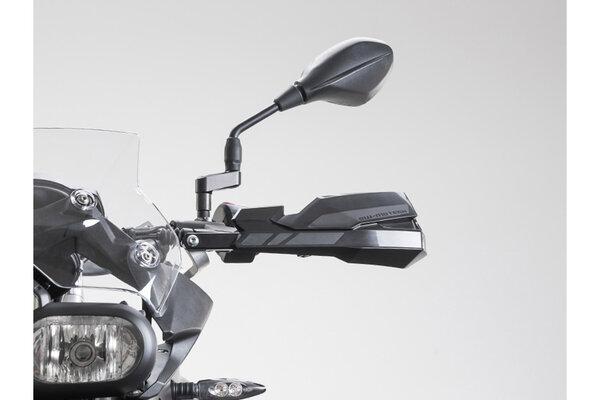KOBRA Handprotektoren-Kit Schwarz. Honda XL 600/650/700 V.