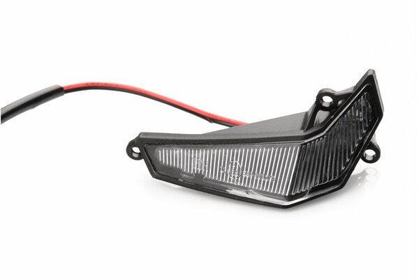 Kit de 2 clignotants LED pour protège-mains KOBRA 16 LEDs/1 watt chacune. 12 V. Avec conformité ECE.