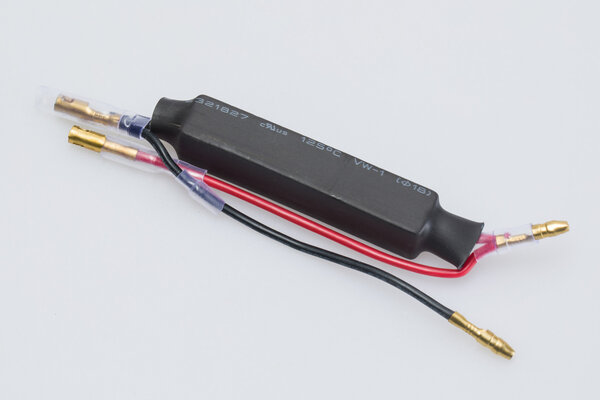 Resistor set for LED indicators 2 pcs. For 10/21 watt. 15 Ohm. Unviersal.