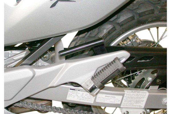 Hauptständer-Hebegriff Schwarz. Honda XL 650 V Transalp.