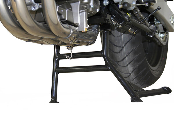 Hauptständer Schwarz. Honda CB 600 F / S (02-06).