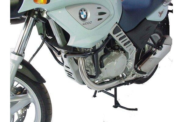 Hauptständer Schwarz. BMW F 650 CS Scarver (02-06).