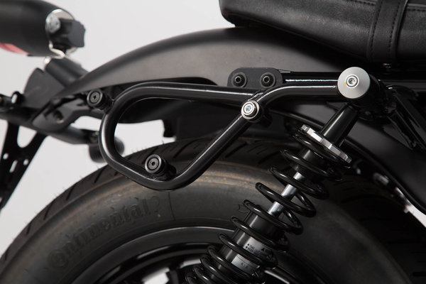 SLC Seitenträger links Moto Guzzi V9 Roamer/Bobber (16-).