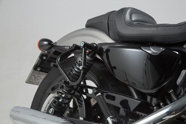 SLC support pour sacoche latérale droit Harley Sportster modèles (04-).