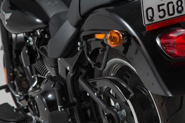 SLC Seitenträger links Harley Davidson Softail Modelle.