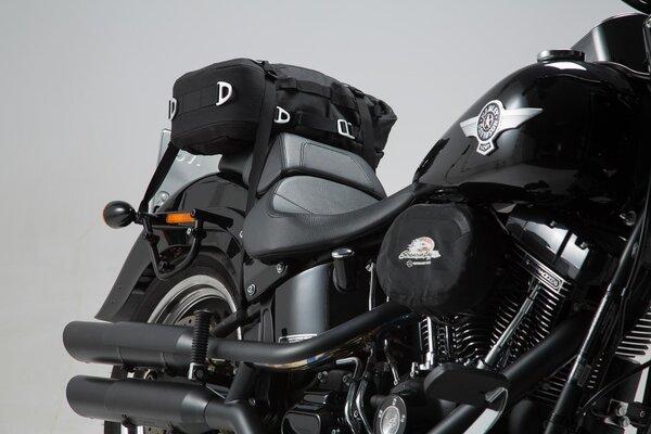 SLC Seitenträger rechts Harley Davidson Softail Modelle.