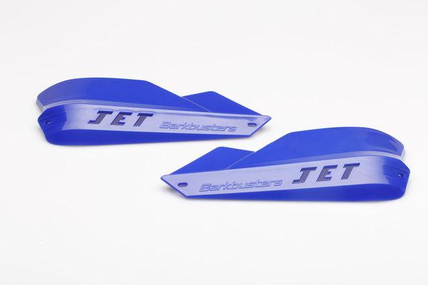 Plásticos de repuesto JET Azul.