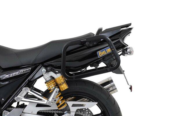 Supports valises EVO Noir. Yamaha XJR 1200 (95-99) XJR 1300 (98-14).