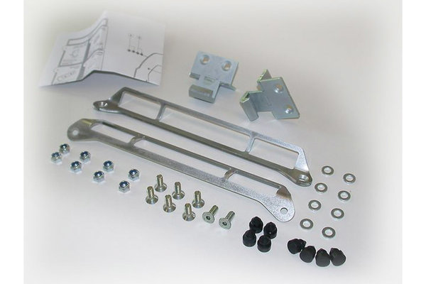 Adapter kit for QUICK-LOCK carrier For Shad. Assembly of 2 cases.