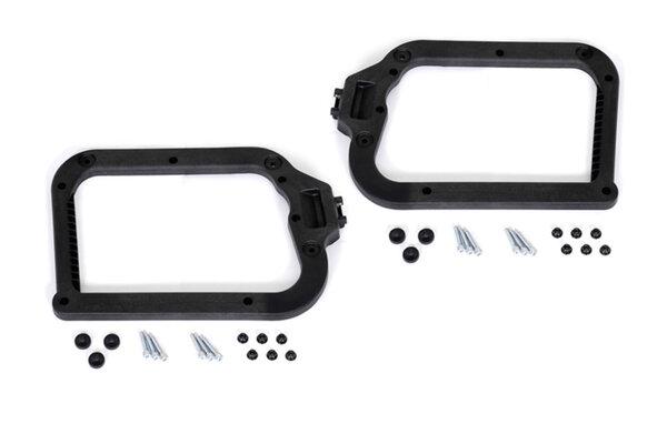 Kit d'adaptation sur support de valises EVO Pour 2 valises plastiques Hepco & Becker.