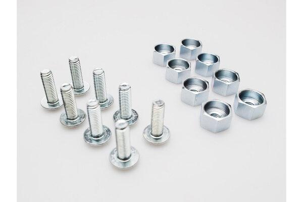 Set adapt. tornillos soporte lateral QUICK-LOCK Plateado. Para todo soporte lateral QUICK-LOCK.