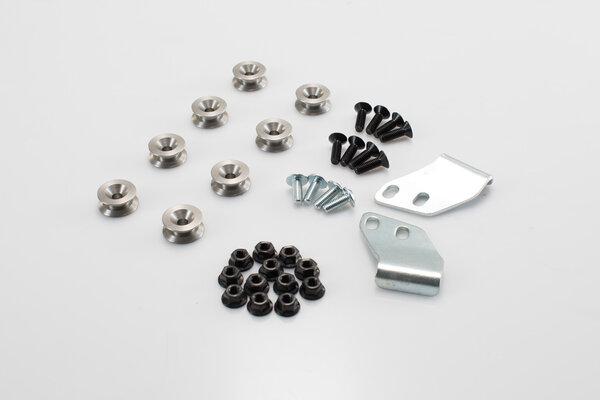 Kit adattatore per telaio portaborse PRO Per valigie laterali TRAX, NANUK. Per 2 valigie.