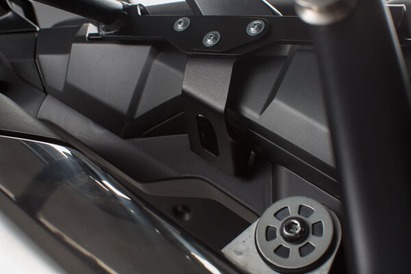 Offroad-Sicherung für PRO/EVO Seitenträger Schwarz. Honda CRF1000L (15-)/ Adv Sports (18-).