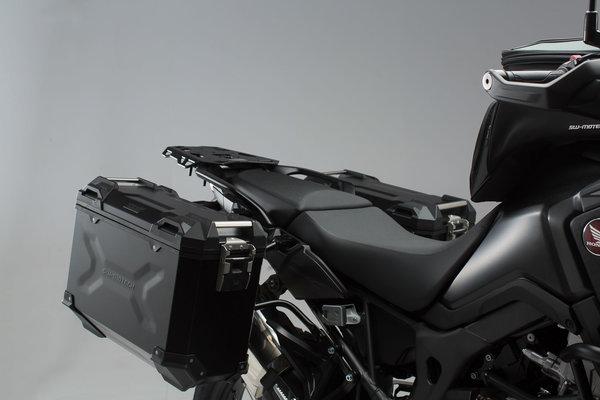 Kit valises TRAX ADV Noir. 45/37 l. Honda CRF1000L Africa Twin (15-17).