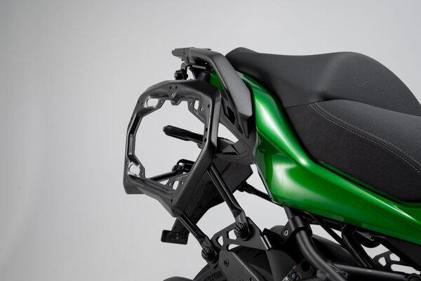 PRO Seitenträger Schwarz. Kawasaki Versys 1000 (18-).