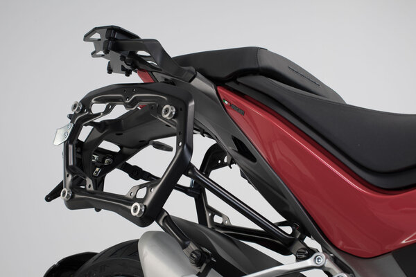 PRO side carriers Black. Ducati Multistrada 1260 (18-).