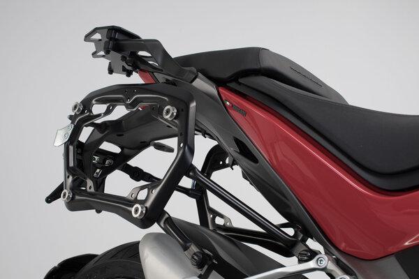 Supports latéraux PRO Noir. Ducati Multistrada 1260 (18-).