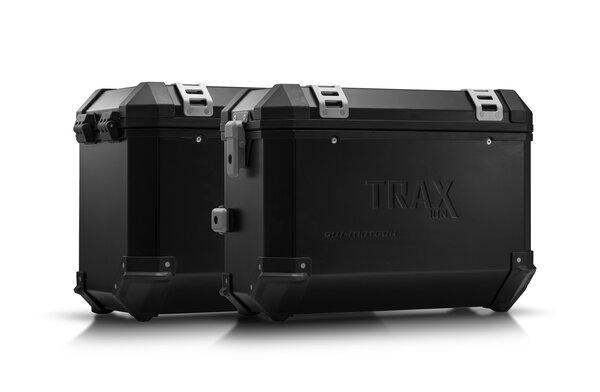 TRAX ION Alukoffer-System Schwarz. 37/45 l. BMW F 800 / 700 / 650 GS (08-).